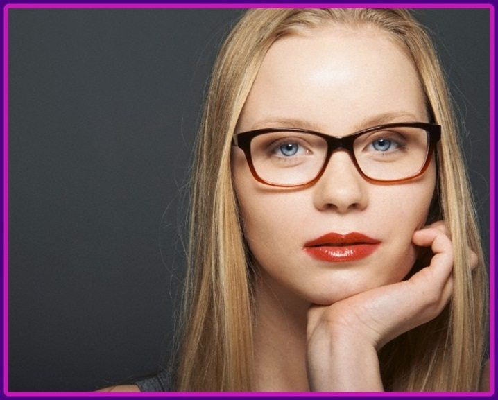 Matching Cute Hairstyle For Women With Glasses E